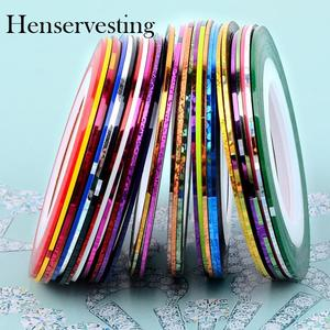 30 Pcs Mixed Colors Rolls DIY