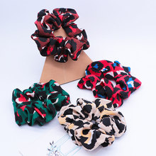 Ponytail Scrunchie Elastic Accessory Hair Rope FABRIC Rubber Band Holder Women(China)