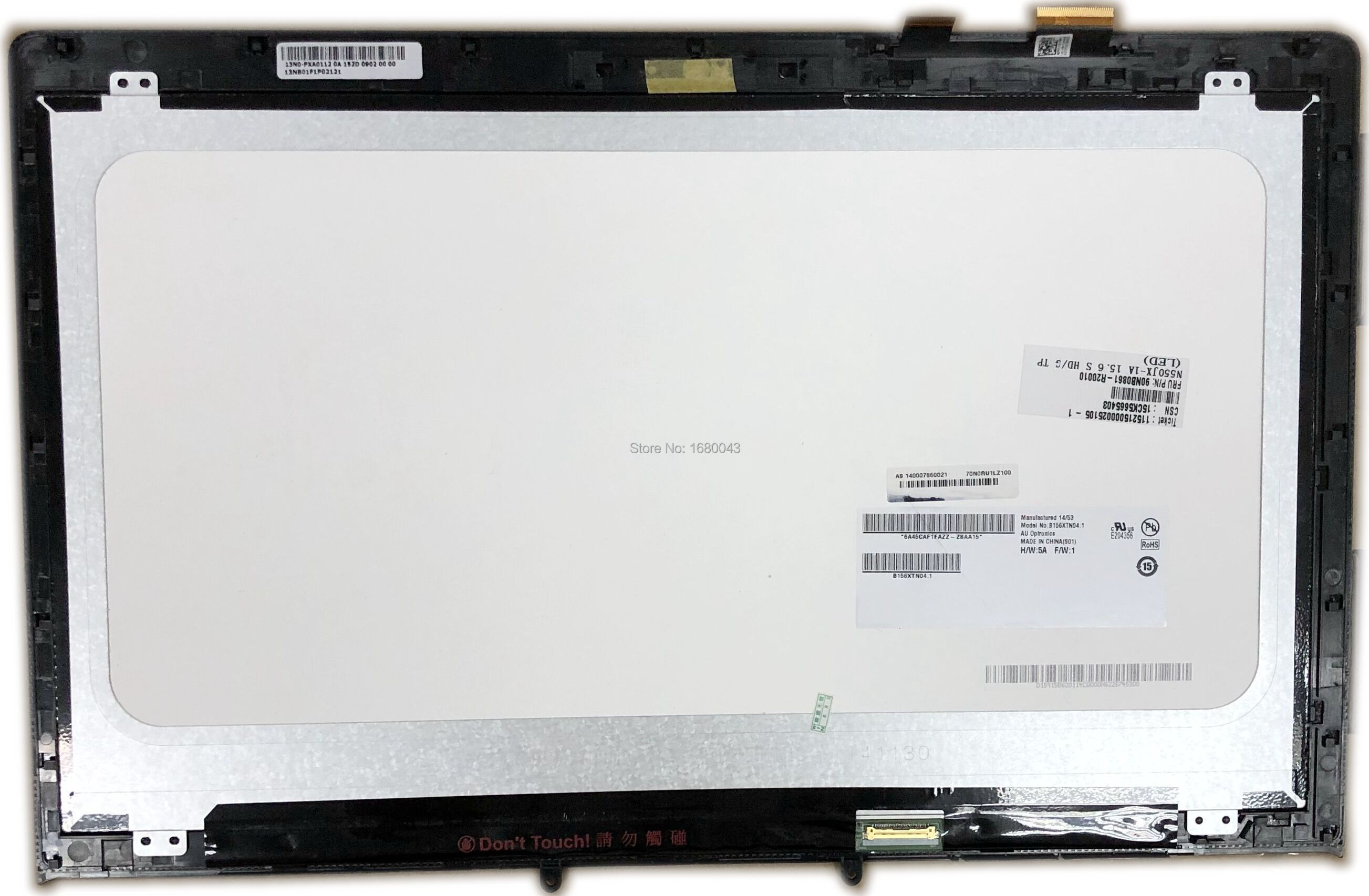 For Asus VivoBook S200E S200 PC replacement Touch Screen digitizer glass panel