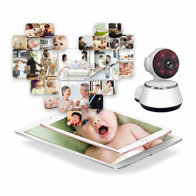 Image 5 - كاميرا مراقبة IP صغيرة تعمل بالواي فاي نظام أمن المنزل الذكي. مع كاميرا مراقبة حيوانات أليفة رضع عالية الدقة 720Pأجهزة مراقبة للرضع   -