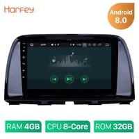 Harfey 1Din 4G B gps автомобиля радио для CX 5 2014 2013 2015 Mazda 8,0 Android 8,1/4G 9 мультимедийный плеер головное устройство с 2012 wi fi