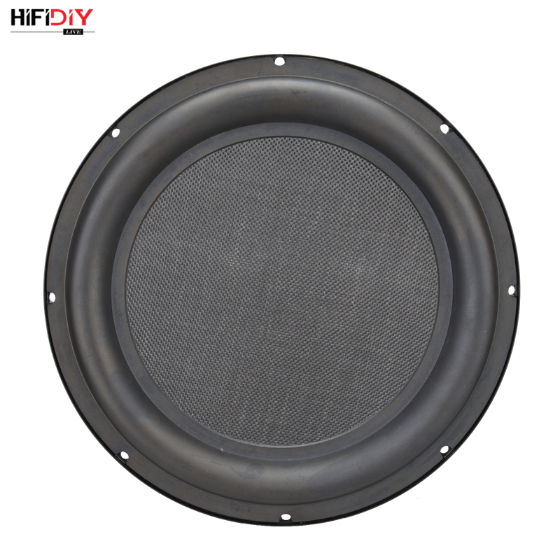 HIFIDIY LIVE 12 inch Bass Speaker Plate Passive Radiator Auxiliary Bass Rubber Vibration Plate Iron frame sound radiation 305mm vibration of orthotropic rectangular plate