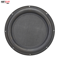 HIFIDIY LIVE 12 inch Bass Speaker Plate Passive Radiator Auxiliary Bass Rubber Vibration Plate Iron frame sound radiation 305mm