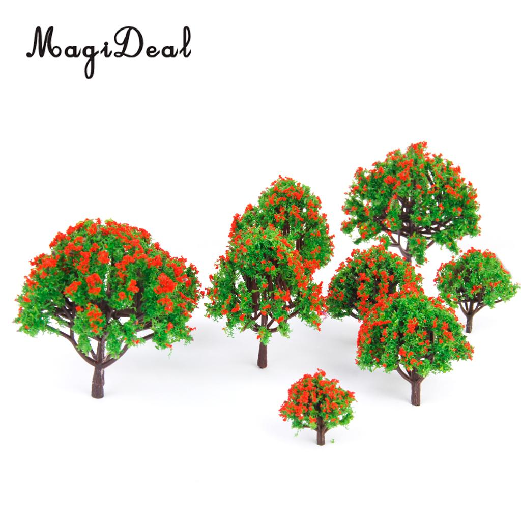 N Scale MagiDeal 30 Pcs Model Trees Architecture Train Railway