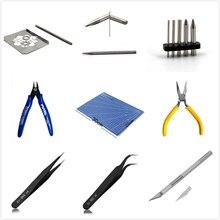 Инструмент для 3D металлических пазлов, инструменты для сборки, Ножницы-щипцы, плоскогубцы, пинцет, точилка для карандашей, устройство для сгиба пряжки, Звездные войны