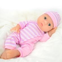 Logeo Baby 43cm 2000g Full silicone reborn baby doll lovely Lifelike Newborn Bebes Reborn lol Dolls Dollhouse Toys free shipping