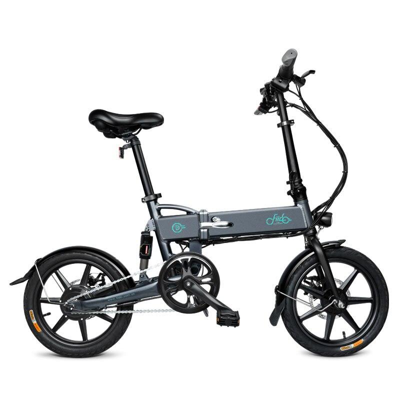 FIIDO D2 16 pollici 7.8Ah Elettrico Pieghevole In Lega di Alluminio Bicicletta Pieghevole Portatile Elettrico Della Bici 25 km/h Freni A Doppio Disco
