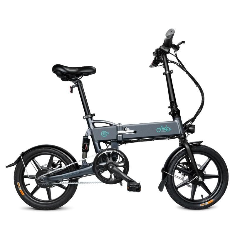 FIIDO D2 16 pouces 7.8Ah vélo électrique pliable en alliage d'aluminium vélo électrique Portable pliable 25 km/h Double freins à disque