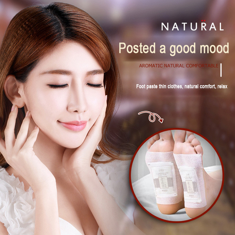 BIOAQUA Old Beijing Ai Grass Foot Pads Slimming Foot Patch Health Loss Weight Feet Mask Help Sleep Body Care 50pcs=25Pairs Karachi