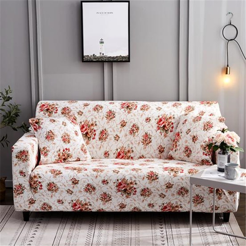 Pink Sofa Cover: Aliexpress.com : Buy Pink Printed Sofa Cover Stretch Couch