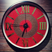 New 3D Wall Clock Handmade Silent Movement Modern Design 12inch/14inch Large For Living Room Duvar Saati