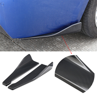 Universal Car Body Side Skirts Stickers Rocker Splitters Diffuser Winglet Wings Bumper Car Carbon Fiber Color Modified