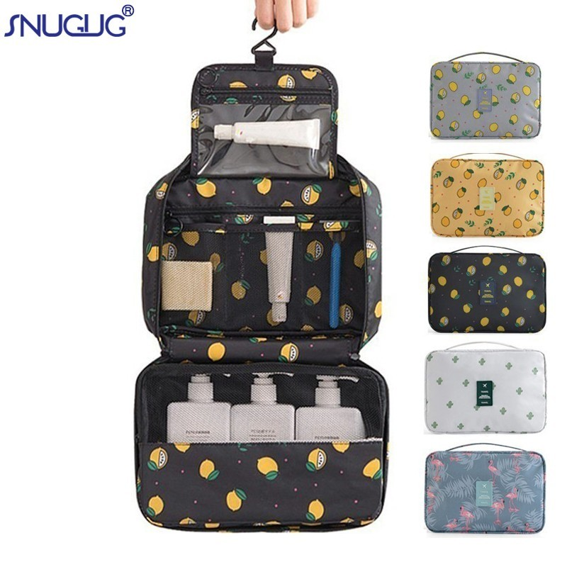 Makeup-Bags Cosmetic-Case Travel Large-Capacity Portable Waterproof New Oxford Can-Be-Washed