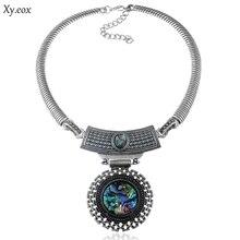 92eca3cca887 Rétro simple de mode chaîne egypte indien pakistanais Thai femmes collier  bijoux