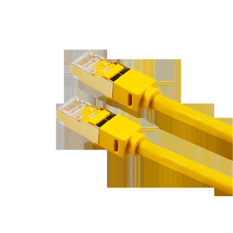 Category 7 Cable Network Cat7 Oxygen Free Copper Twisted Pair Shielded 10g Network Connection Tyj014 JerseyCategory 7 Cable Network Cat7 Oxygen Free Copper Twisted Pair Shielded 10g Network Connection Tyj014 Jersey