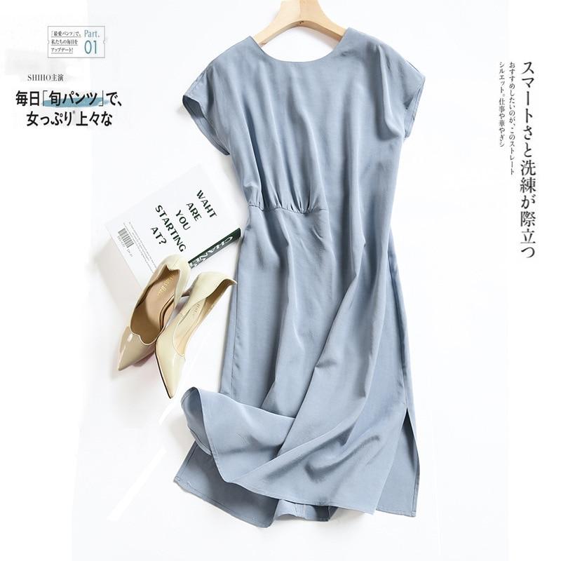 Zoj Commuter Ol asymétrique conception robe Boutique nv zhuang qun enfants été 2019 nouveau Style une génération de graisse