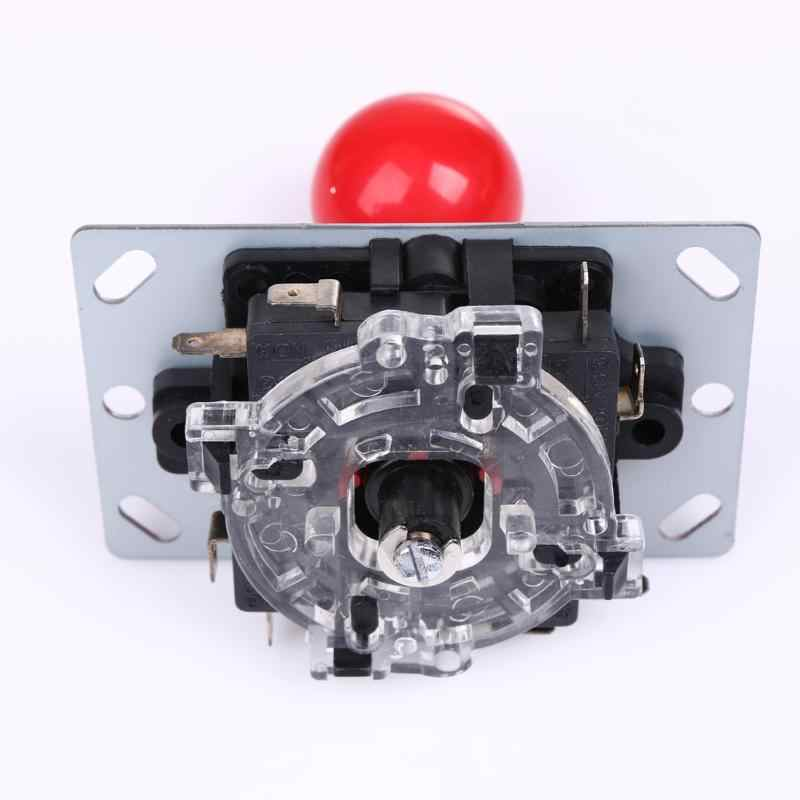 Hot Classic 8 Way Arcade Game Joystick Replacement Newest Round Red Ball Handle Android Phone Game Pad Accessories Use Suppliers