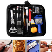 147Pcs Watch Repair Tool Kit Watchmaker Back Case Remover Opener Practical Watch Accessories