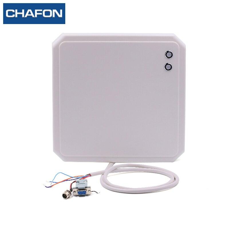 CHAFON 865 ~ 868 Mhz 10 m uhf lecteur rfid extérieur étanche IP65 avec interface RS232 WG26 RS485 et lumière LED pour le stationnement de cartes