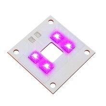 Uv 405nm 40 W LED אור מקור מנורת פנל נחושת צלחת משולב אור חרוזים ויולט עבור ANYCUBIC פוטון UV DLP 3D מדפסת חלקי