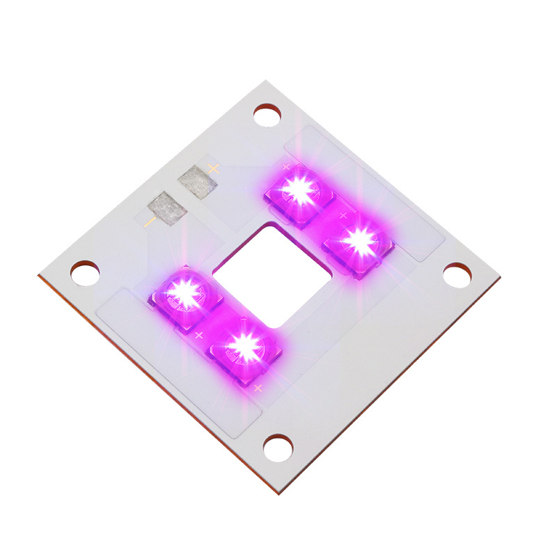 Uv 405nm 40W LED Light Source Lamp Panel Copper Plate Integrated Light Beads Violet For ANYCUBIC Photon UV DLP 3D Printer Parts
