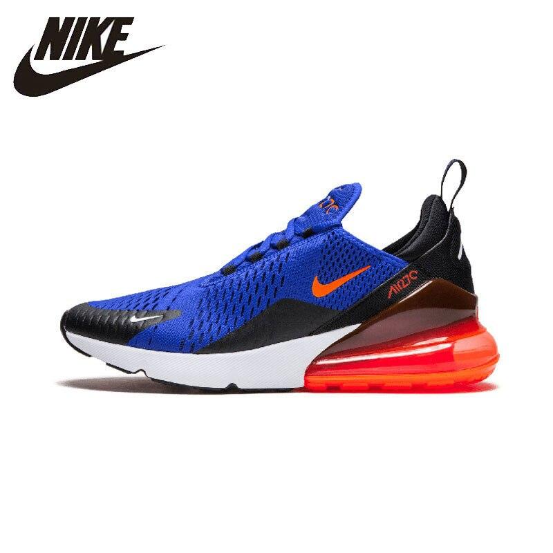 Nike AIR MAX 270 Homens Originais Tênis de corrida Ao Ar Livre Calçados Esportivos Respiráveis Das Sapatilhas # AH8050
