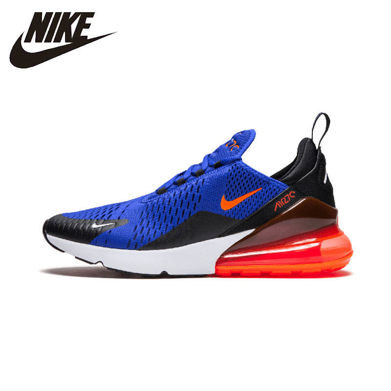 Nike AIR MAX 270 D'origine Hommes Chaussures de Course Sports de Plein AIR Chaussures Respirant Sneakers # AH8050