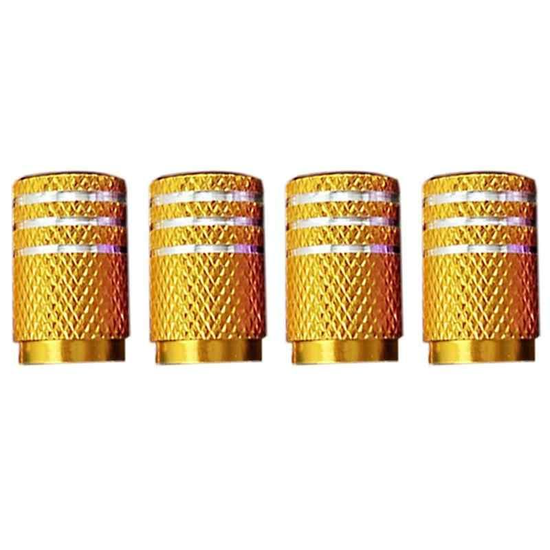 4 قطعة/الحزمة غطاء صمام السيارة الإطارات صمام سبائك الألومنيوم غطاء محور عجلات غطاء الصمام صمام الجذعية قبعات الغبار يغطي للدراجات النارية السيارات