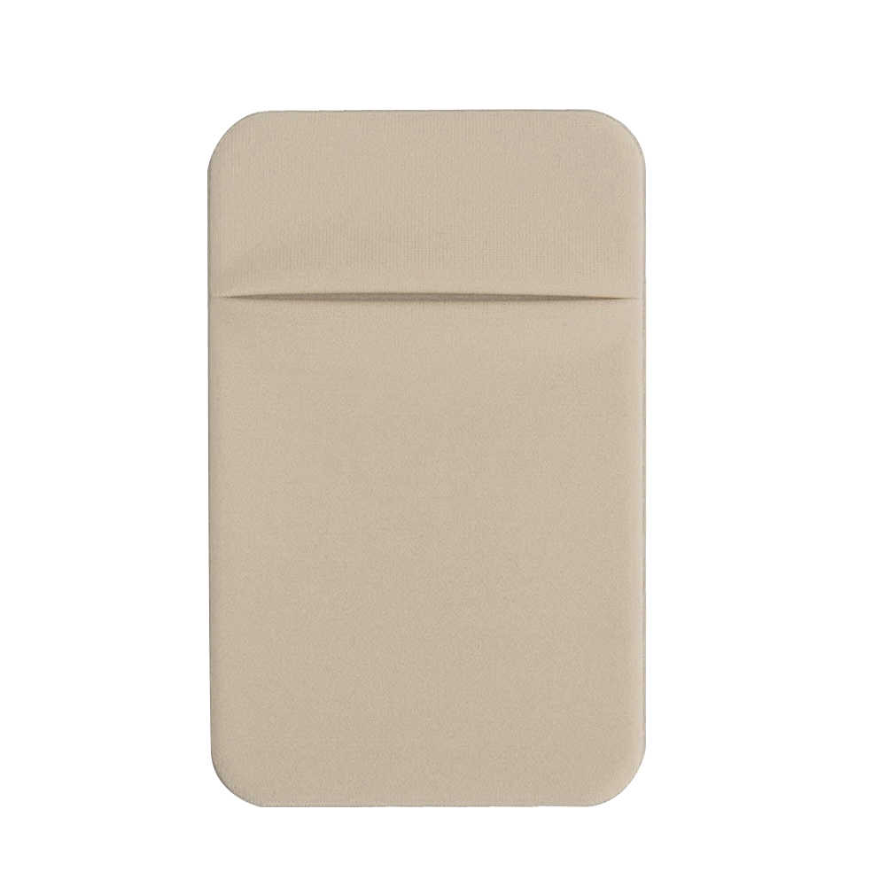 Bolsa Universal Titular Do Cartão Fino Caso Telefone de Volta Removível Vara-on Mini Bolso Adesivo Carteira de Crédito