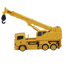 Mini Rc Crane Rc Truck Mini Crane Model Cultivate Remote Control Tractor Model Outdoors Game Engineering Construction toy Kids(China)