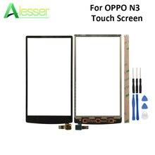 Alesser Cho OPPO N3 N5206 N5209 N5207 Cảm Ứng Panel Màn Hình Cảm Ứng Màn Hình Kính Digitizer Phụ Tùng Thay Thế Với Các Công Cụ Cho OPPO n3
