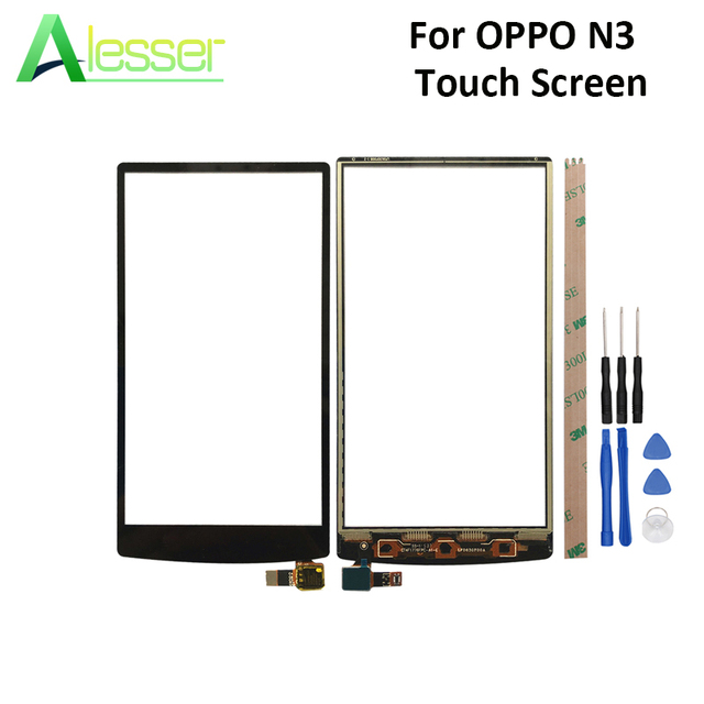 Alesser For OPPO N3 N5206 N5209 N5207 Touch Screen Touch Panel Glass Screen Digitizer Replacement Parts With Tools For OPPO N3