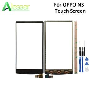 Image 1 - Alesser pour OPPO N3 N5206 N5209 N5207 écran tactile panneau tactile en verre numériseur pièces de rechange avec des outils pour OPPO N3