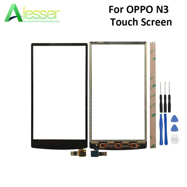 Alesser pour OPPO N3 N5206 N5209 N5207 écran tactile panneau tactile en verre numériseur pièces de rechange avec des outils pour OPPO N3