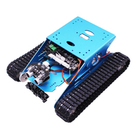 Track Robot Kit Programmable Smart Climbing Tank Mobile Platform Chassis Robot Kit for Arduino FOR R3 with for R3