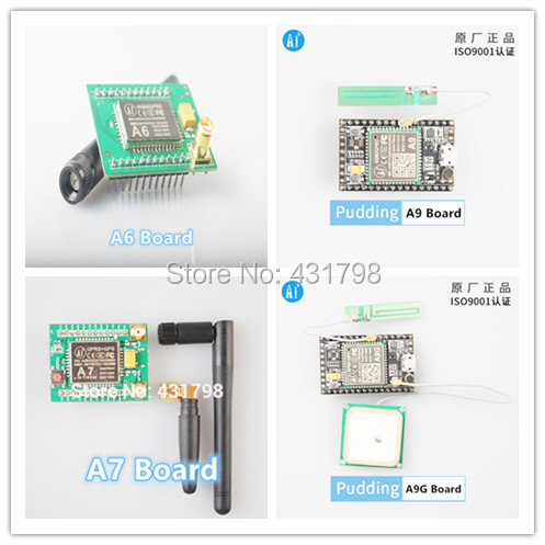 AIoT GSM/GPRS+GPS/BDS Module SMS Voice Development Board Minimum System Wireless Data Transmission Positioning A6 A7 A9 A9G