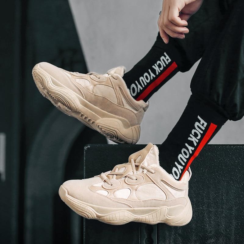 Instagram Kanye Ultra-Fire Men's Sneaker Skateboar 2019 New Style Dad Shoes Korean-Style Ulzzang Harajuku Shoes Running