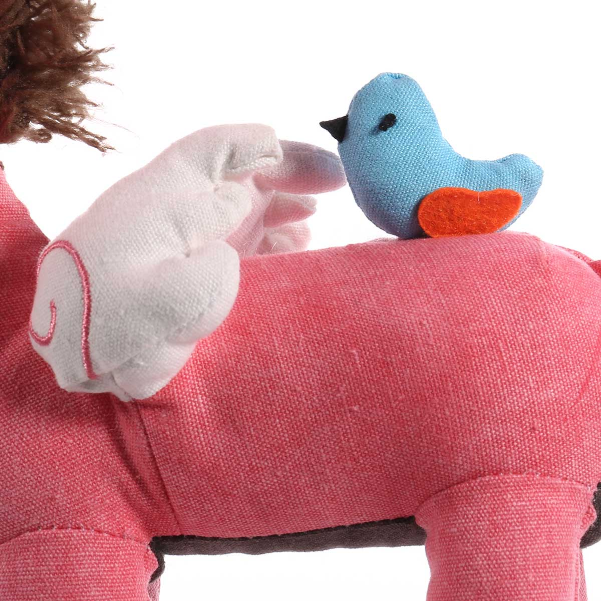 Pink Unicorn Table Lamp | Cotton Lamp for Children 5