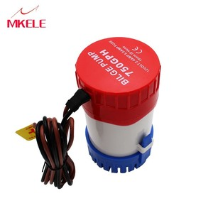 DC12V/24V electric for boats accessories marin,Automatic bilge 600GPH auto submersible water pump