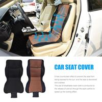 1 Pc Breathable Mesh AC Moisture Wicking Car Seat Covers Pad Fit For Most Cars /summer Cool Seats Cushion Car Cushion
