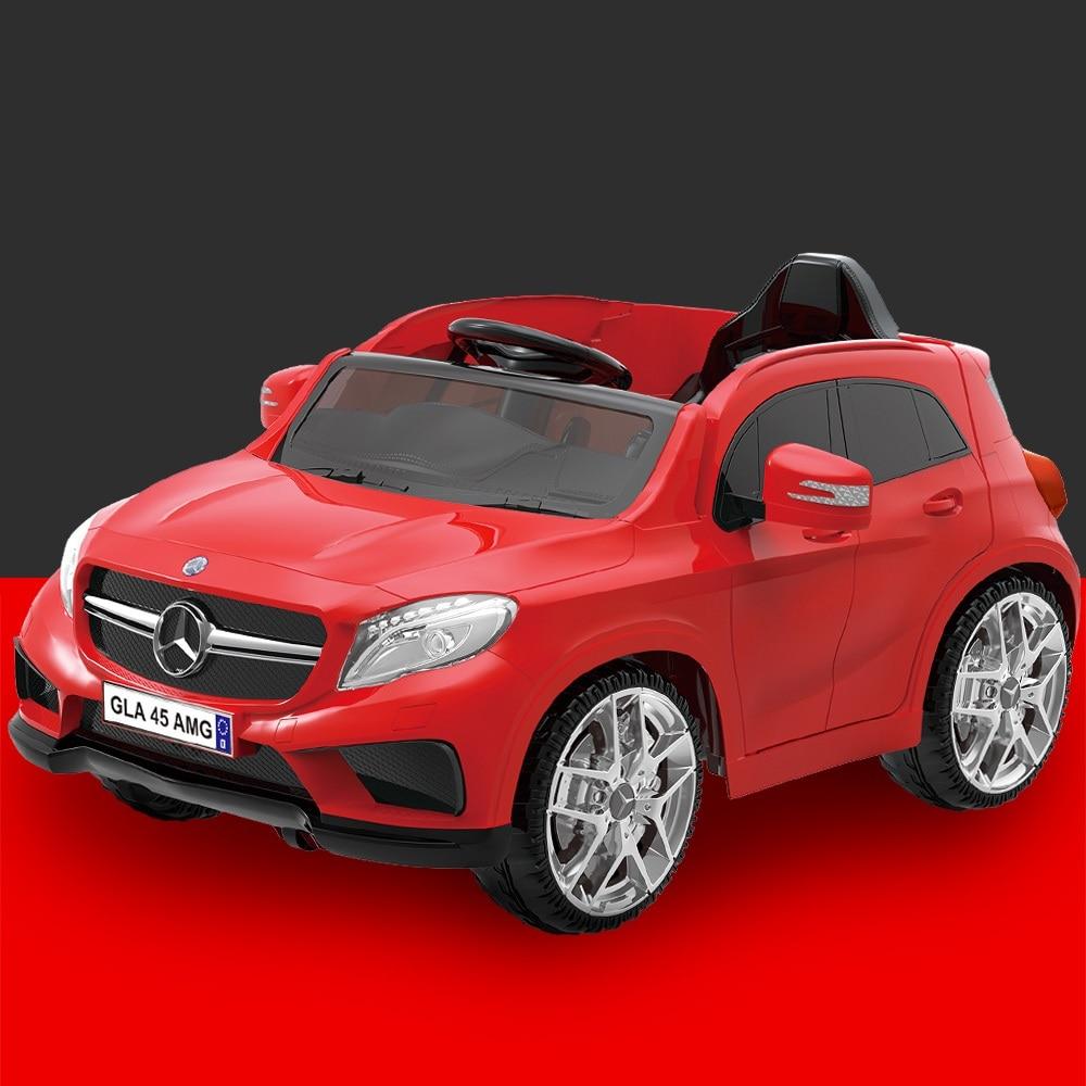 Quatre roues motrices enfants voitures électriques enfants voiture électrique tour sur 1-5 ans équitation jouet ville véhicule avec double entraînement