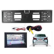 License-Plate-Frame Rearview-Camera Led-Light EU Parking 4 Waterproof Auto Car-Reverse-Backup