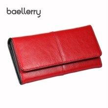 Купить с кэшбэком Women Clutch Wallets Evening Women Wallets Genuine Leather Card Holder Woman Carteira Feminina Elegant Female Purse Bag