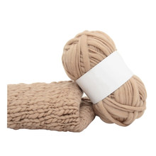 Surwish Acrylic Fibers Iceland Coarse Woolen Yarn Thick Yarn For Knitting Hat Coat Scarf With High Quality- Camel Wool(China)