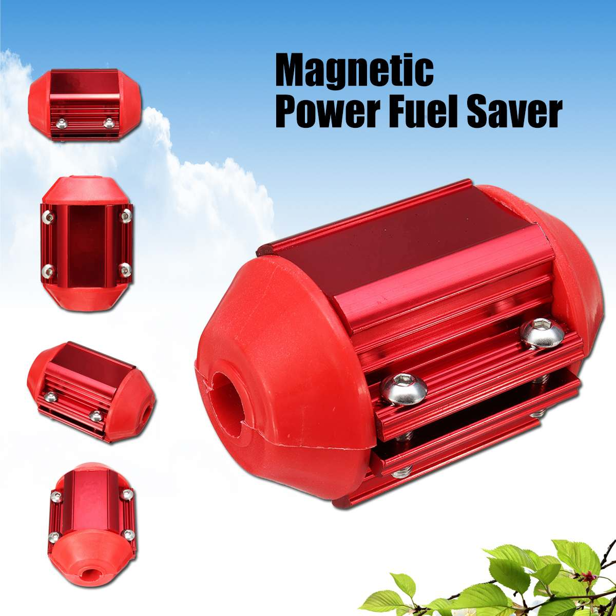 Universal Magnetic Fuel Saver Trucks Gas Oil Fuel Economizer Car Power Saver Vehicle Magnetic Fuel Saving With Tools