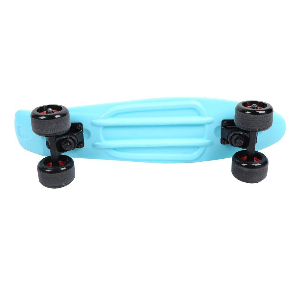 Четыре колеса скейтборд Рыба скейтборд скутер Longboard Спорт на открытом воздухе для взрослых и детей скейтборды аксессуары - 6