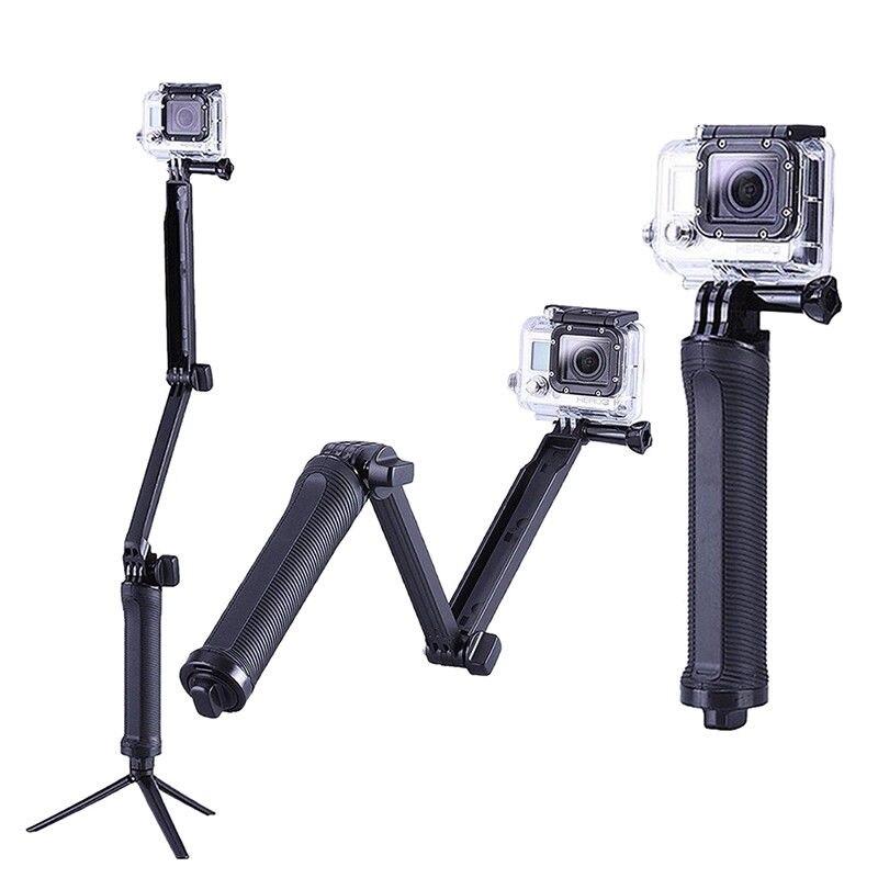3 way Selfie Handheld Stick Monopod Folding Holder for GoPro hero 4 3+ 3 23 way Selfie Handheld Stick Monopod Folding Holder for GoPro hero 4 3+ 3 2