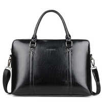 """High Quality Women's Laptop Business Briefcases Bags PU Leather Women Handbag 14"""" 15.6 Inch Laptop Computer Portable Office Bag"""