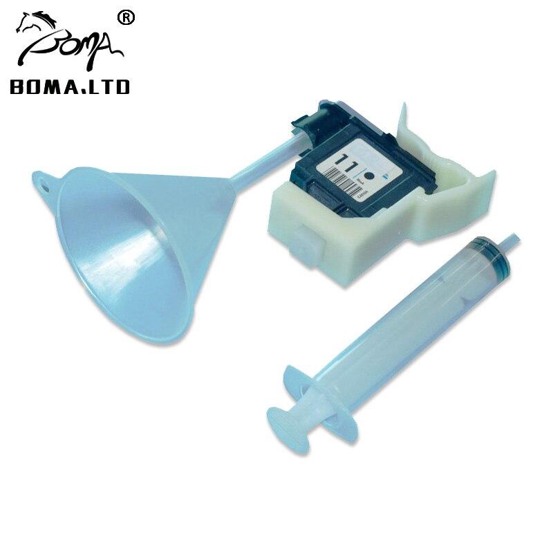 FORRÓ!! Nyomtatófejek tisztítókészlete Tintasugaras tisztítószer HP 11 84 85 újratöltő eszközökhez: HP 100/110/111/500/510/800/813/850/130 nyomtatóhoz
