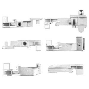 ABEDOE 6pcs Serger overlock Presser Foot Accessory for Singer 14CG754 14SH654 14U555 Consew 14TU 14hd854 Juki Machine(China)